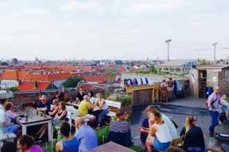 Berlin, Rooftop-Bar Klunkerkranich, Titel 1